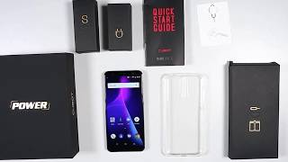 CUBOT POWER 4G Phablet - BLACK 5.99 Inch Unboxing - Hands On - Review Price