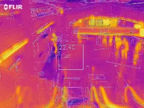 FLIR ONE Proで赤外線ムービーを撮影