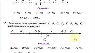 # 29 Урок 19. Координатная прямая. Противоположные числа. Математика 6 класс.