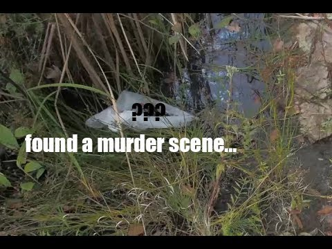 I Found Bones In a River While fishing - I had to call the cops