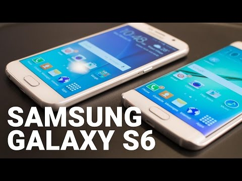 The latest Samsung Galaxy S6 and S6 edge TV ad gets colorful to hype its display