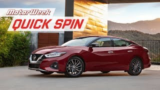 2019 Nissan Maxima | Quick Spin
