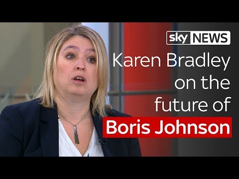 Paterson: Karen Bradley on Boris Johnson