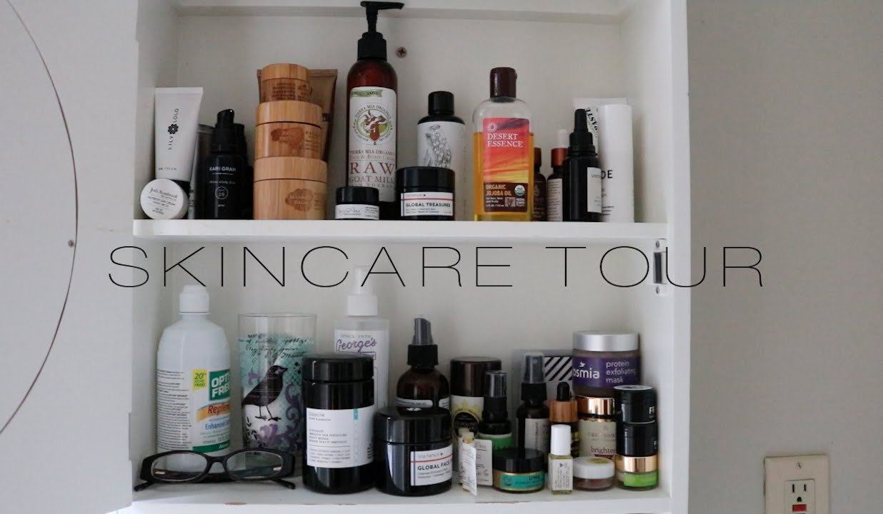 What 39 s in my skincare cabinet eco organic luxe l for La cabine skincare