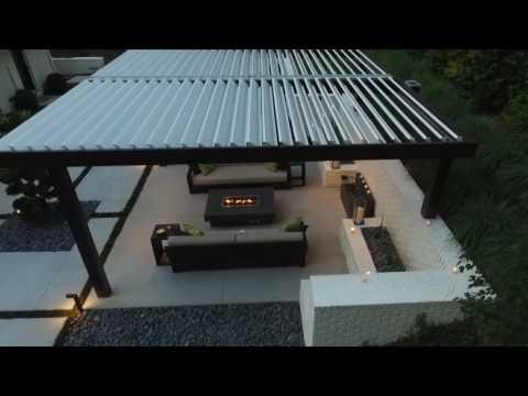 Enjoy your backyard patio, rain or shine