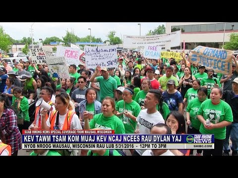 SUAB HMONG NEWS:  EP 2 - Peace March for Dylan Yang in downt