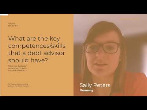 Teaser - Module 1 - Debt advisor competences and target groups