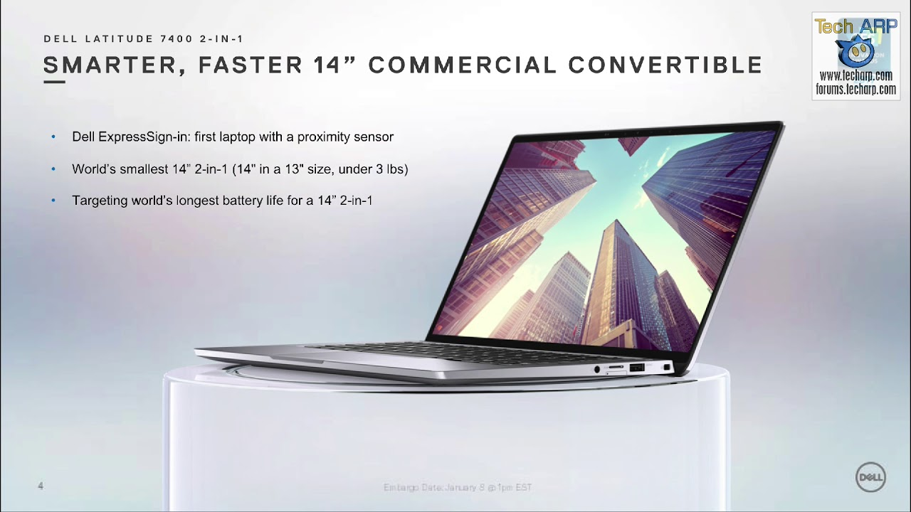 The Dell Latitude 7400 2-in-1 Laptop Revealed! - Tech ARP