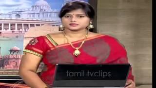 top indian saree Tamil girls anchoring on tv