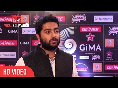 Arijit Singh at Gima Awards 2015 | Special Interview