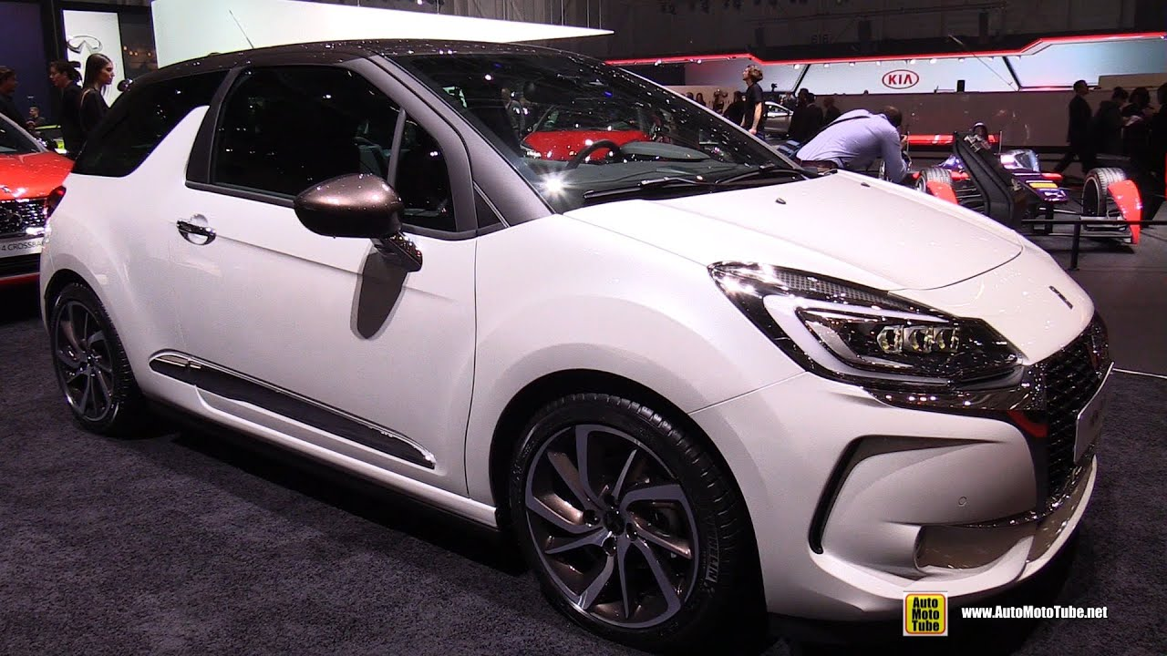 2017 citroen ds3 exterior and interior walkaround 2016 geneva motor show youtube. Black Bedroom Furniture Sets. Home Design Ideas