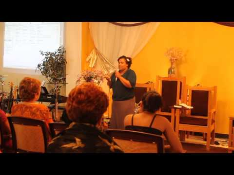 St. John Bible Center, Azzelia Jones Dance/Testimony (Why Not Trust God again)