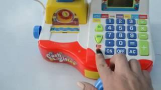 Видео обзоры игрушек - кассовый аппарат