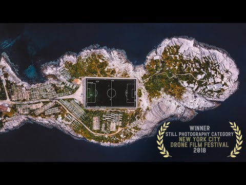 Football Island - 2018 New York City Drone Film Festival Still Photography Category Winner