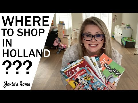 Shopping In The Netherlands - Introduction To Dutch Shops - NL For Newbies - Jovie's Home