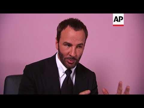 Tom Ford says he looked to capture the energy of 90's fashion with his latest collection
