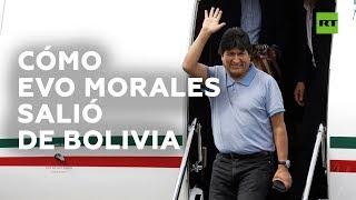Qué países ayudaron a Evo Morales a salir de Bolivia