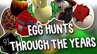ROBLOX EGG HUNTS THROUGH THE YEARS (2009-2017)