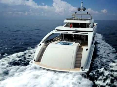 3D animatie van 65 meter jacht van Heesen Yachts