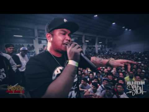 FlipTop - Dello vs Thike *Surprise Freestyle Battle*