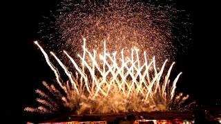 12分間の大花火大会(The  exciting fireworks from Japan)