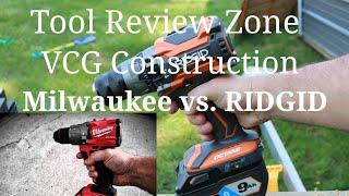 Ridgid OCTANE vs. Milwaukee Gen3 Drill Driver (TRZ vs. VCG) Update