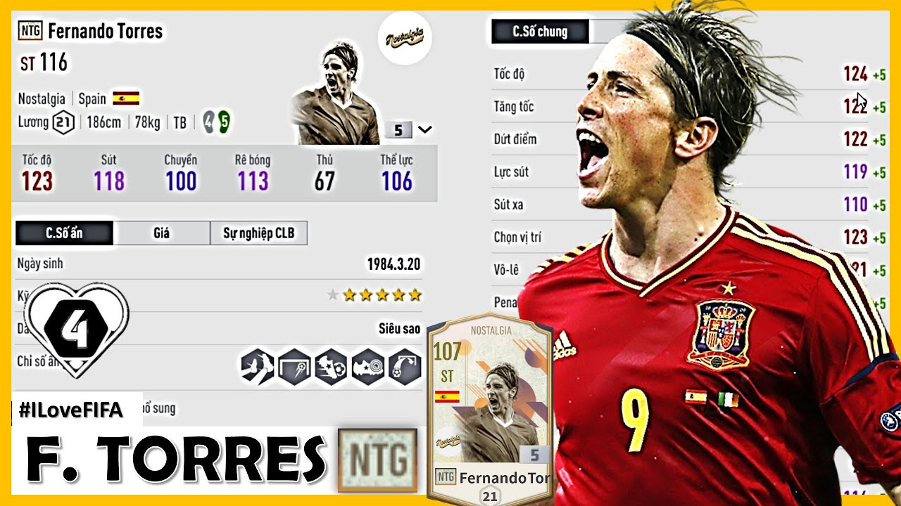 """Fernando Torres NTG Idol """" Quốc Dân """" Trong FO4 Với Những Bước Chạy Đầu Tiên: Nhanh, Chạy Chỗ Đỉnh"""