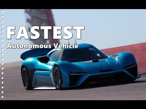 NIO EP9 Autonomous Lap Record - Fastest Self-Driving Car Yet