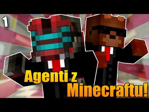 AGENTI Z MINECRAFTU! - Minecraft Adventure Map: Anti-Apocalypse Agency #1!