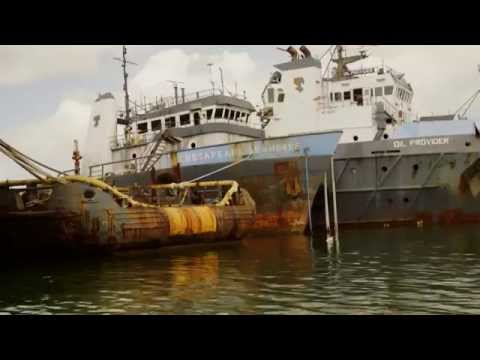Kurs mod fjerne kyster - Trinidad Olie industri
