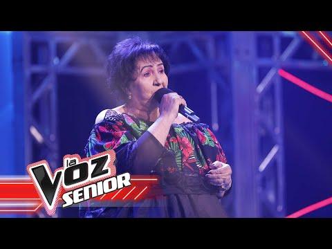 María Nelfi canta 'Tarde'| La Voz Senior Colombia 2021