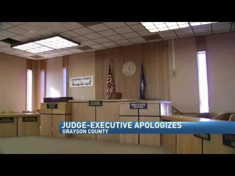 "Grayson County Judge Executive:  ""I'm Not Black, I'm Not Obama"""