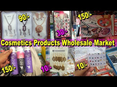 Girls Accessories Wholesale Market - Makeup, Cosmetics, Jewellery, Beauty Products - Go Girls... - 동영상
