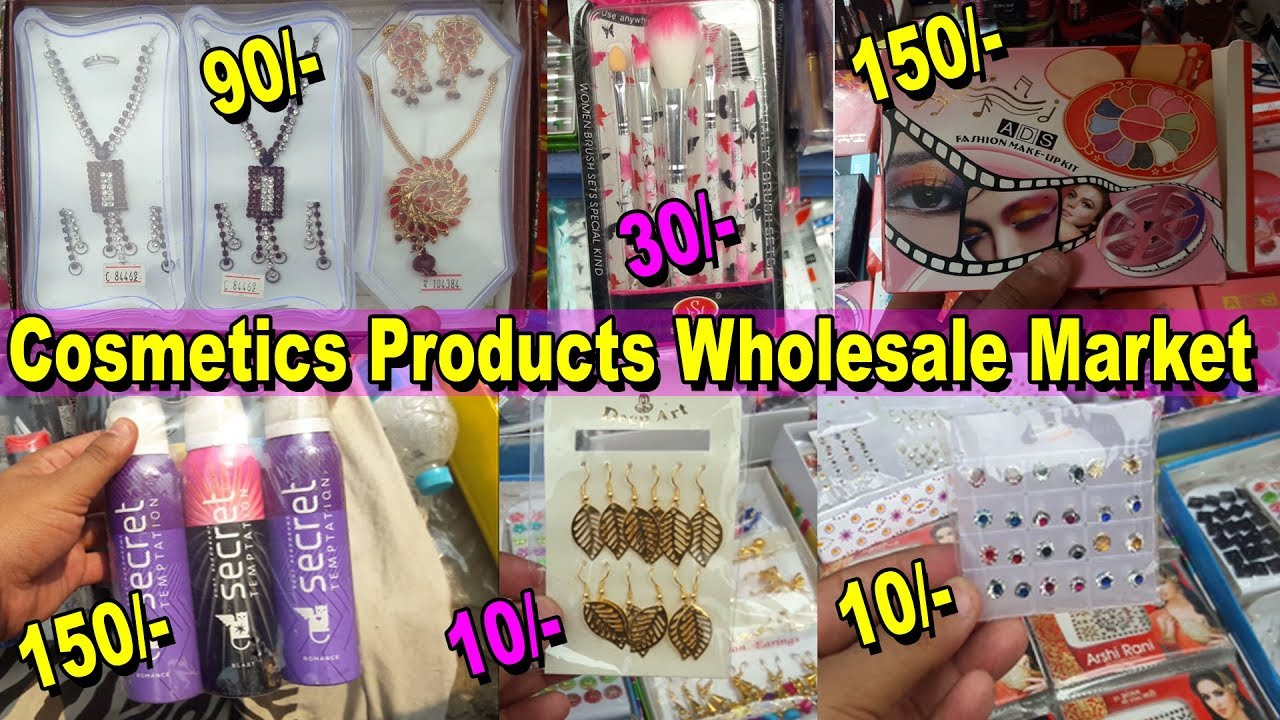 Girls Accessories Wholesale Market | Makeup, Cosmetics, Jewellery, Beauty  Products | Go Girls