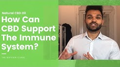 How Can CBD Oil Support The Immune System?
