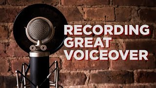 5 Tips for Recording Great Voiceover | Hey.film podcast ep34