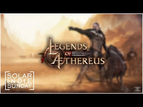 Solar Indie Sunday - Legends of Aethereus ...I DON'T Like These Caves!...