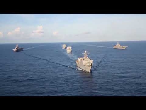 US Navy Hurricane Relief Ships, B-Roll