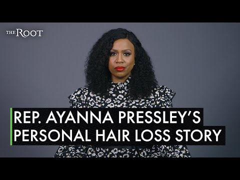 Rep. Ayanna Pressley reveals she has alopecia