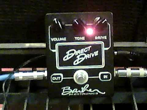 Barber Direct Drive Overdrive Pedal