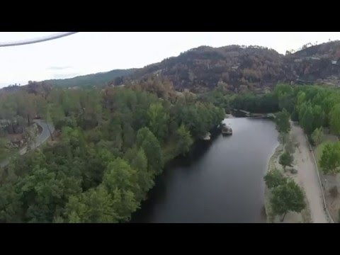 Rio Rabaçal em Vale de Telhas