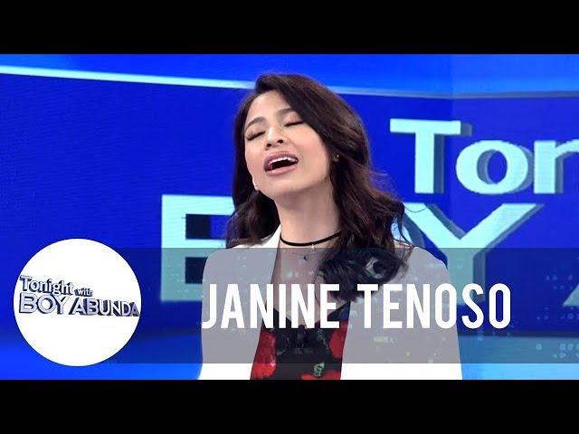TWBA: Janine sings