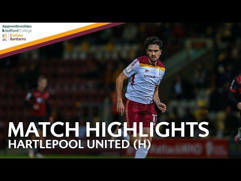 Bradford Hartlepool Goals And Highlights