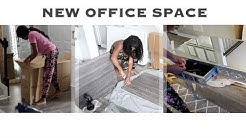 ✨Glam Home✨ NEW OFFICE SPACE   ASSEMBLE FURNITURE WITH ME