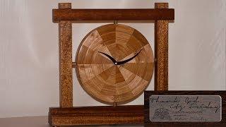 019 [en] Tgif - Clock -  Woodturning