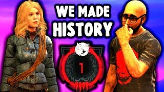 WE MADE HISTORY IN DEAD BY DAYLIGHT