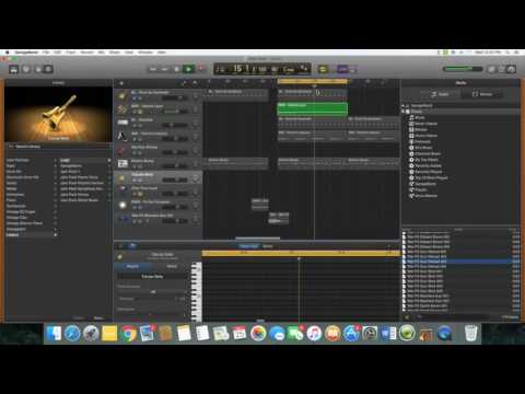 "How to make a trap beat in Garageband PT 1 ""The Melody"""