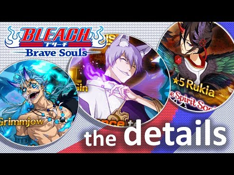 [Bleach Brave Souls] Night of the Demons DETAILS!!! GIN, RUKIA, GRIMMJOW