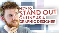 How To Stand Out Online as a Freelance Graphic Designer