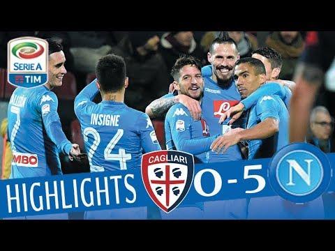 Cagliari - Napoli 0-5 - Highlights - Giornata 26 - Serie A TIM 2017/18